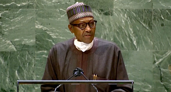 LIVE: President Buhari Addresses World Leaders At UN General Assembly